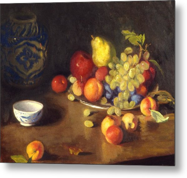 Abundance Of Fruit Metal Print by David Olander
