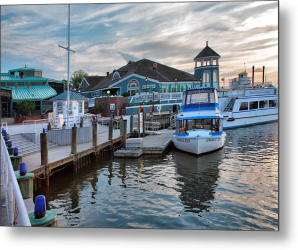Alexandria Waterfront I Metal Print