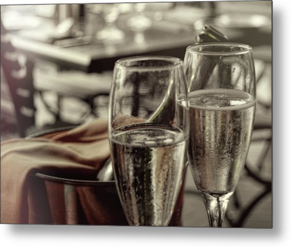 All Sparkling Metal Print by JAMART Photography