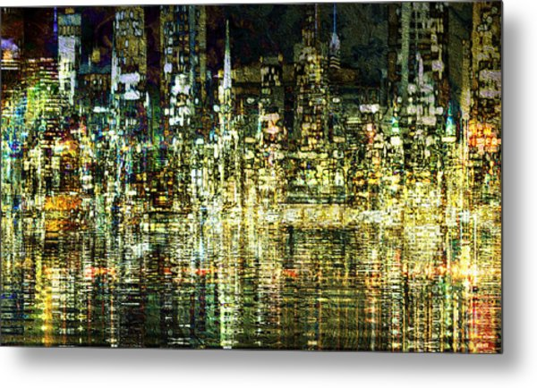 All That Glitters Metal Print