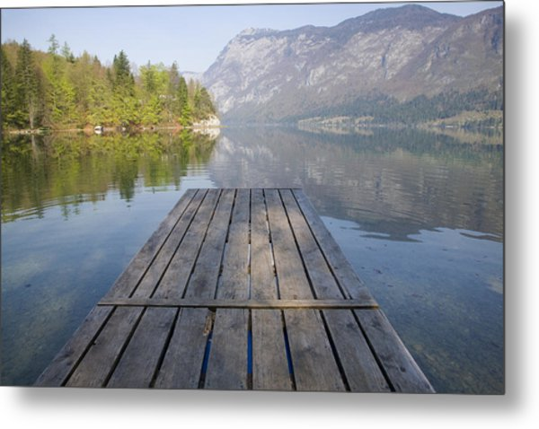 Alpine Clarity Metal Print