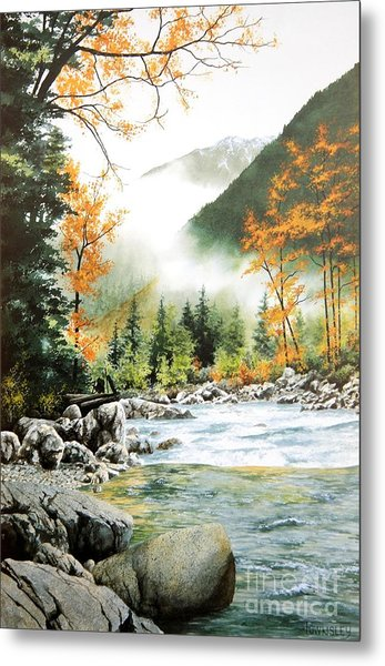 Alpine Tapestry Metal Print