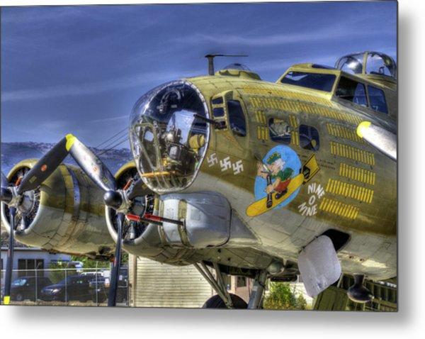 B-17 Metal Print