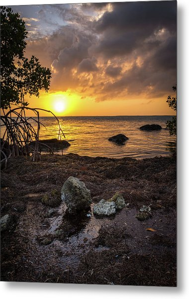 Bahia Honda Sunset Metal Print