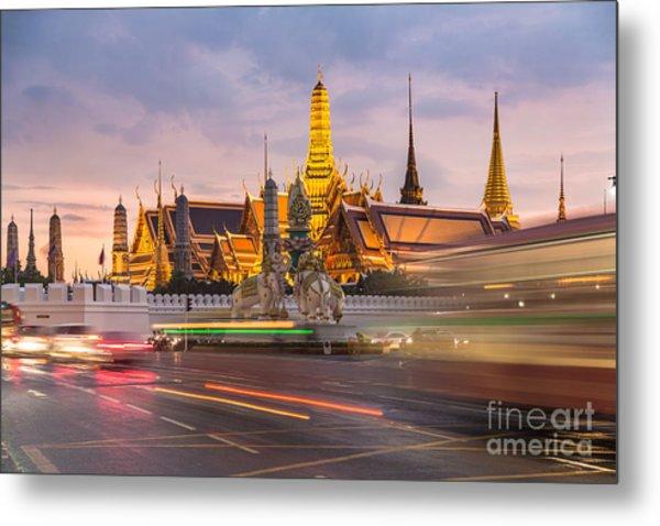 Bangkok Wat Phra Keaw Metal Print