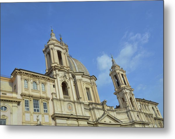 Baroque Church Metal Print by JAMART Photography