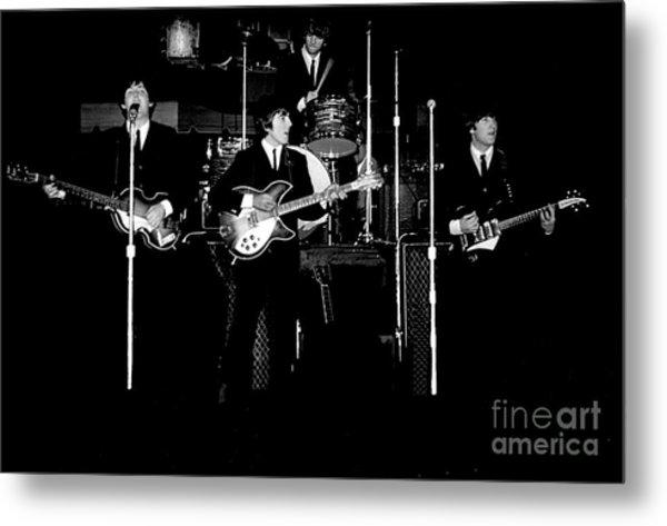 Beatles In Concert 1964 Metal Print