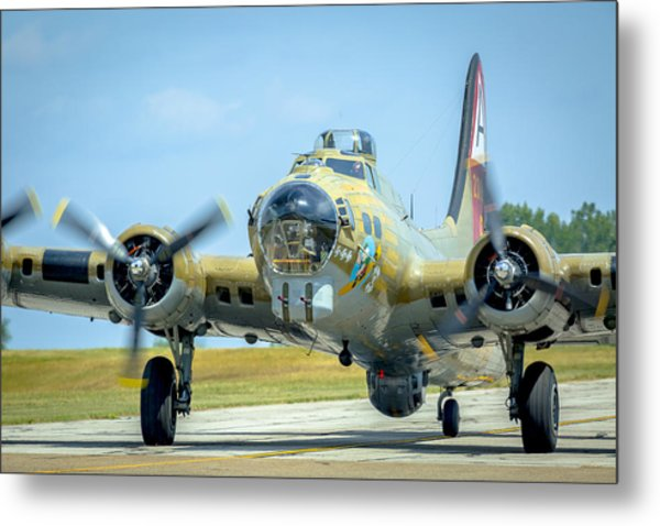 Boeing B-17g Flying Fortress   Metal Print