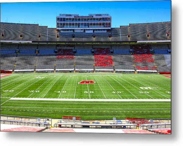 Camp Randall Uw Madison Metal Print