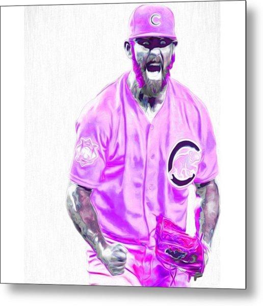 Chicago Cubs Ace Jake Arietta. No No #2 Metal Print