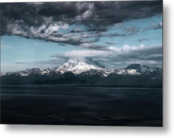 Cold Morning On The Bay Metal Print