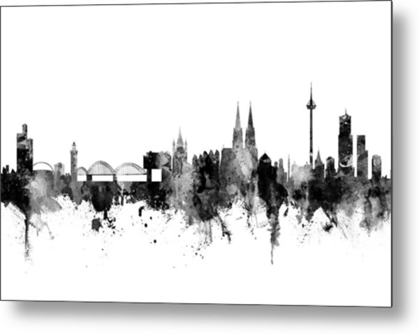 Cologne Germany Skyline Metal Print