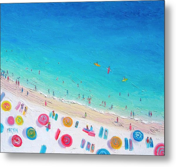 Colors Of The Beach Metal Print