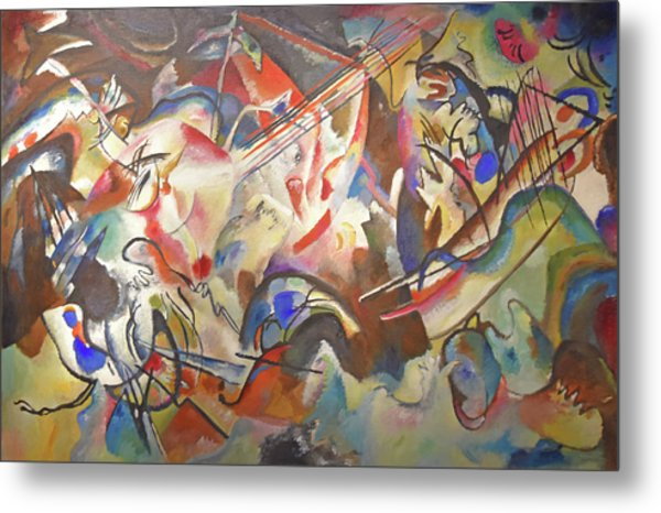 Composition Vi Metal Print by Wassily Kandinsky