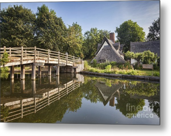 Constable Country Metal Print by Colin and Linda McKie