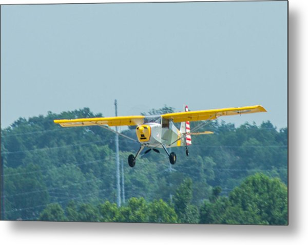 Cracker Fly-in Metal Print