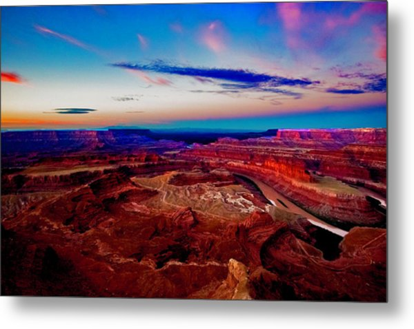 Metal Print featuring the photograph Dead Horse Point by Norman Hall