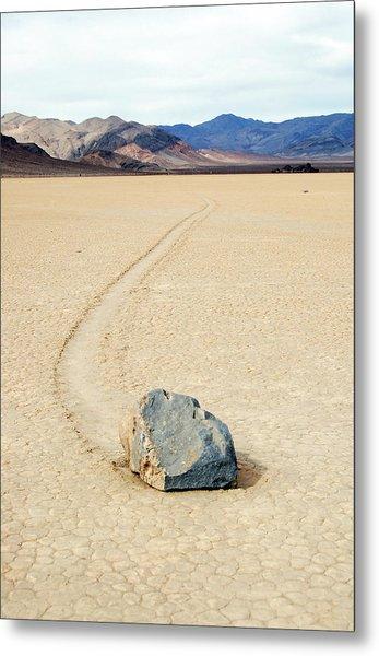 Death Valley Racetrack Metal Print