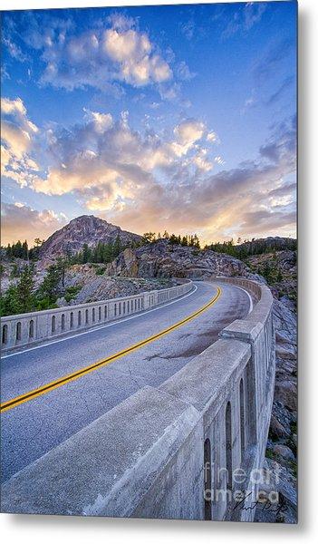 Donner Memorial Bridge Metal Print