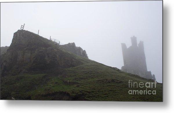 Dunstanburgh Castle.  Metal Print by John Cox