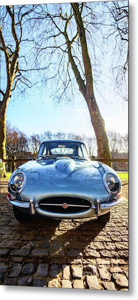 E Type Jaguar Metal Print