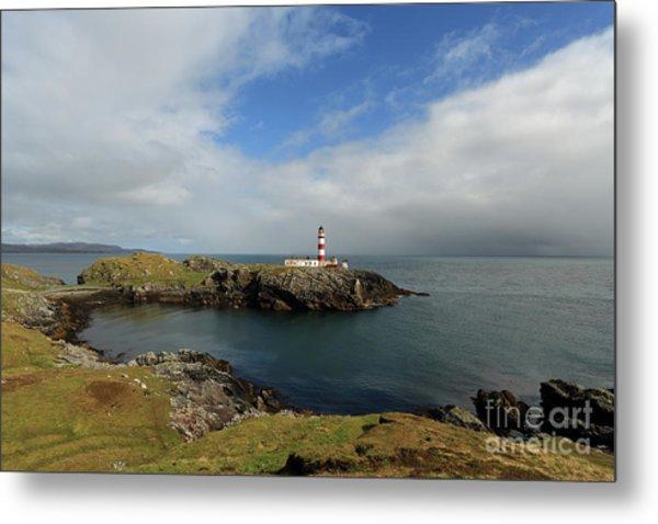 Eilean Glas Lighthouse Metal Print