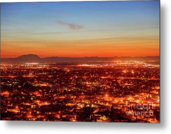 El Paso, Texas Metal Print by Denis Tangney Jr