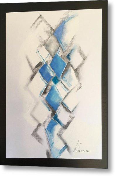 Energy,abstract Art Print. Metal Print