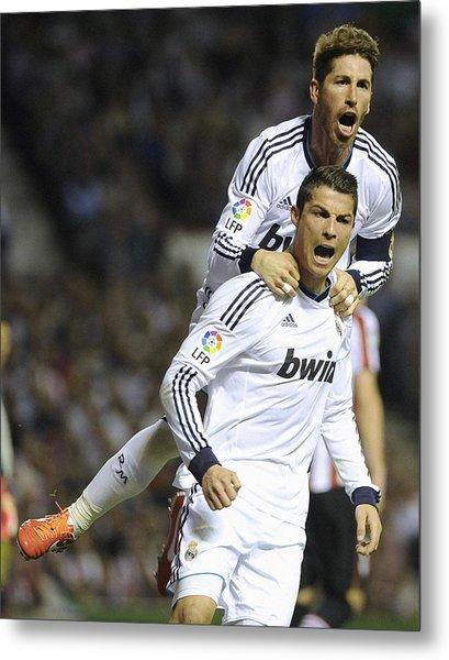 Cristiano Ronaldo 13 Metal Print