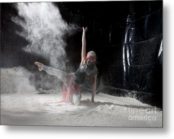 Flour Dancing Series Metal Print
