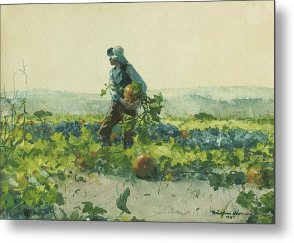 For To Be A Farmer's Boy Metal Print