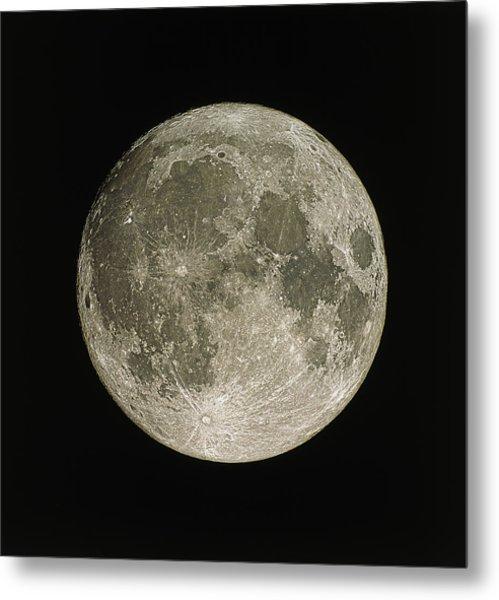 Full Moon Metal Print