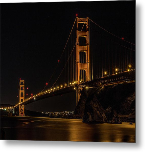 Golden Gate Bridge 2 Metal Print