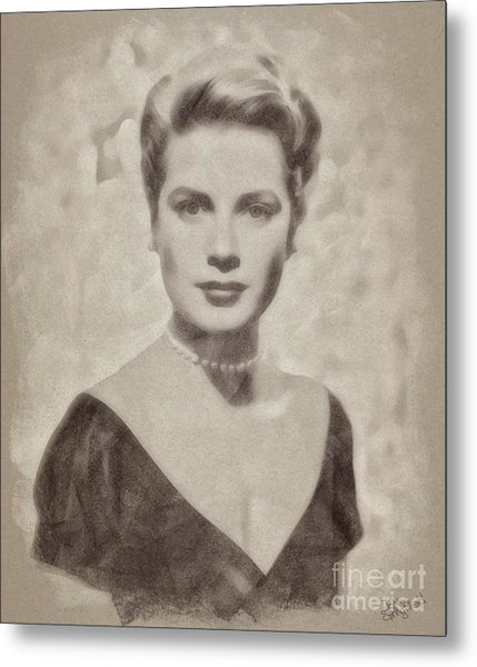 Grace Kelly, Actress And Princess Metal Print