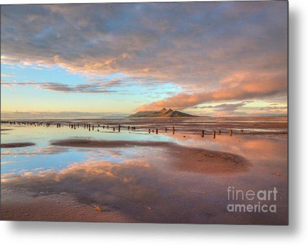 Great Salt Lake Sunset Metal Print