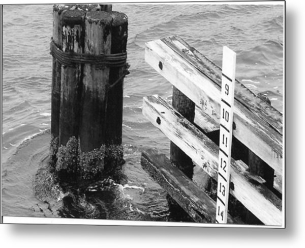 Inlet Metal Print by Eric Barich