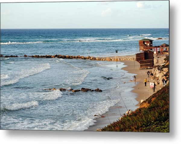 Jaffa Beach 7 Metal Print
