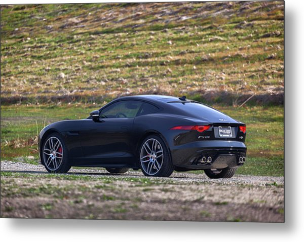 Metal Print featuring the photograph #jaguar #f-type #print by ItzKirb Photography