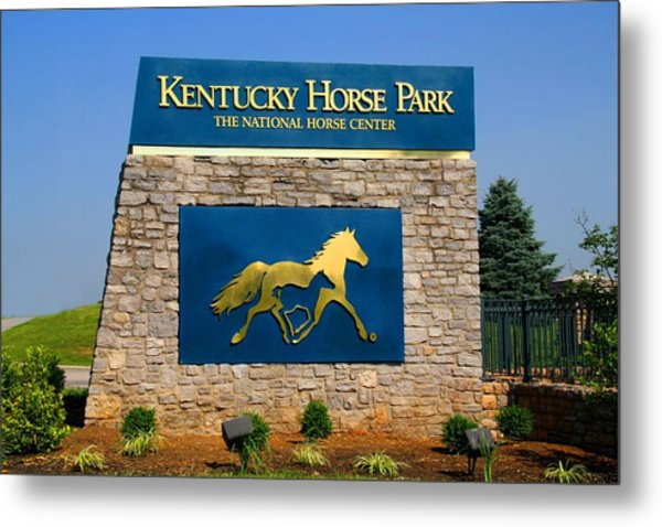 Kentucky Horse Park Metal Print