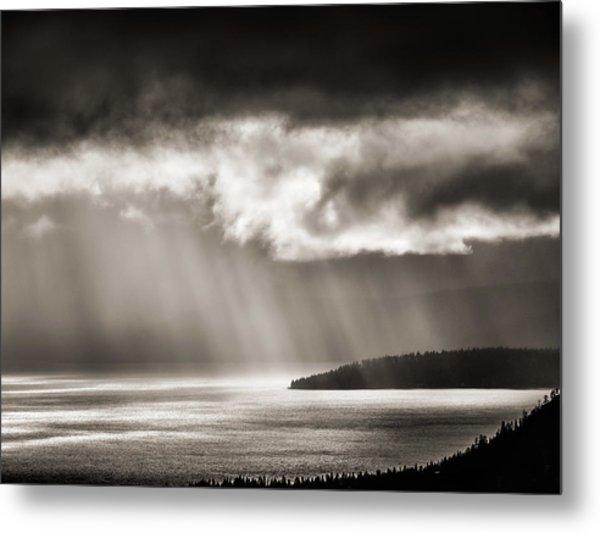 Lake Tahoe Storm Metal Print