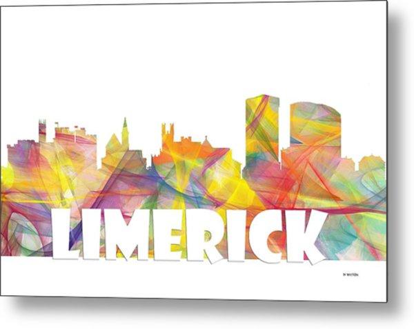 Limerick Ireland Skyline Metal Print