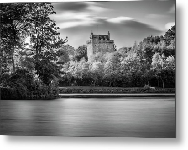 Mains Castle East Kilbride, Scotland Metal Print