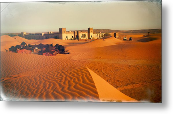 Moroccan Desert Scenery With An Arabian C& Of Colourful Tents On Glowing Dunes Near To An & Red Tent Art (Page #15 of 16) | Fine Art America