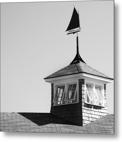 Nantucket Weather Vane Metal Print