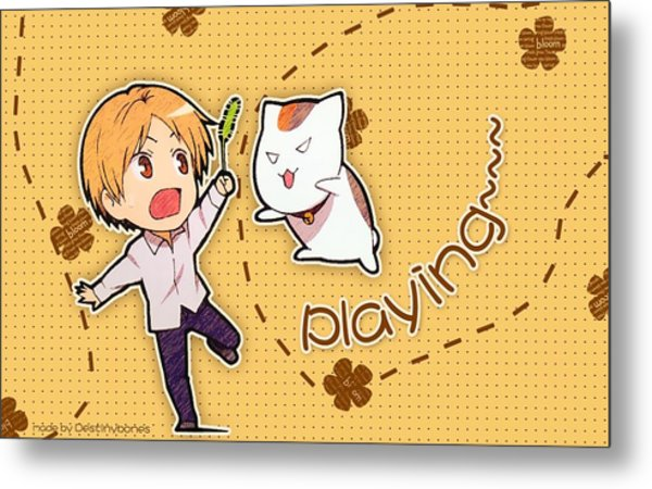 Natsume's Book Of Friends Metal Print
