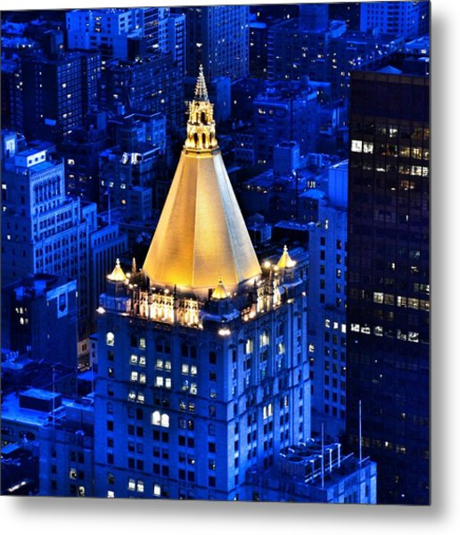 New York Life Building Metal Print