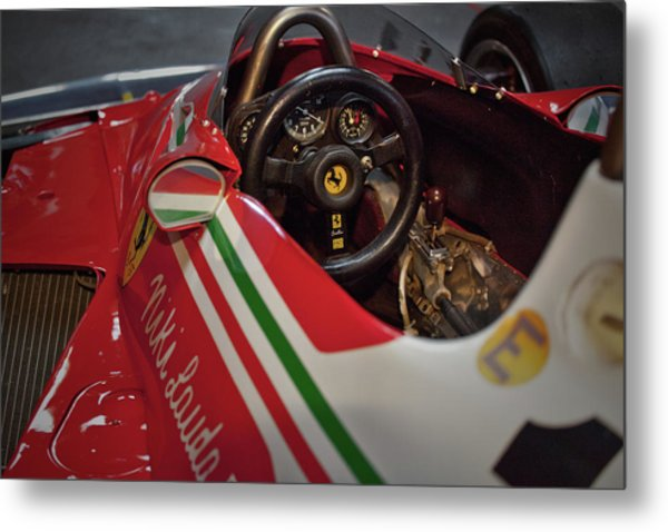 Number 11 By Niki Lauda #print Metal Print