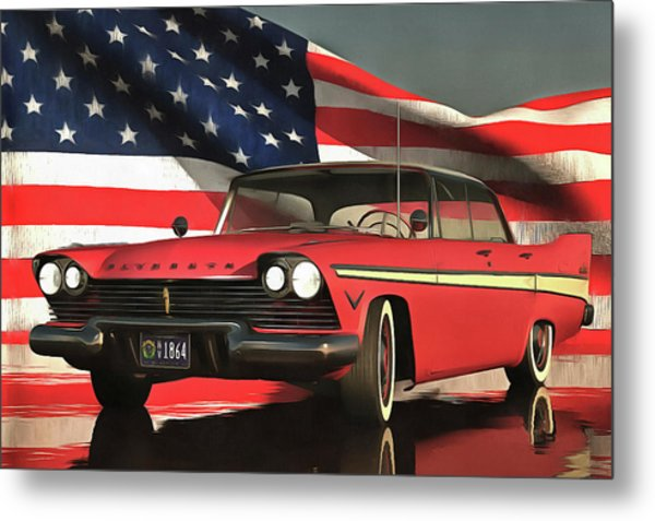 Old-timer Plymouth Metal Print