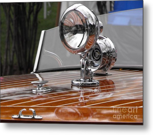 1050's Outboard Runabout Metal Print