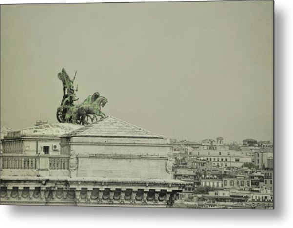 Palace Of Justice In Rome Metal Print by JAMART Photography